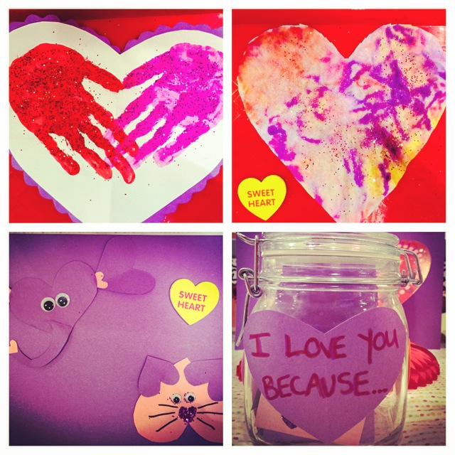 valentines day arts crafts for kids - Valentines Day Arts And Crafts