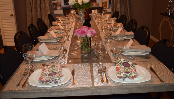 Hosting A Dinner Party – Decor, Table Setting, Ambiance
