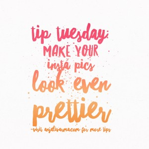 Tip Tuesday: Picture Editing