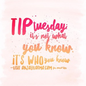 Tip Tuesday: Networking, Networking, Networking