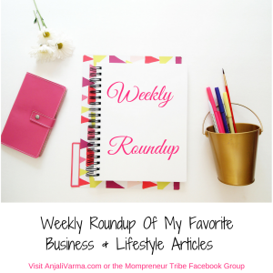 Weekly Roundup Is Back – Networking, Instagram, Quick Family Meals & More