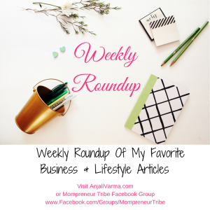 Weekly Roundup: Articles on Good Books, Making Money While You Sleep, FB Ads, Getting Your Kids To Listen, And More!