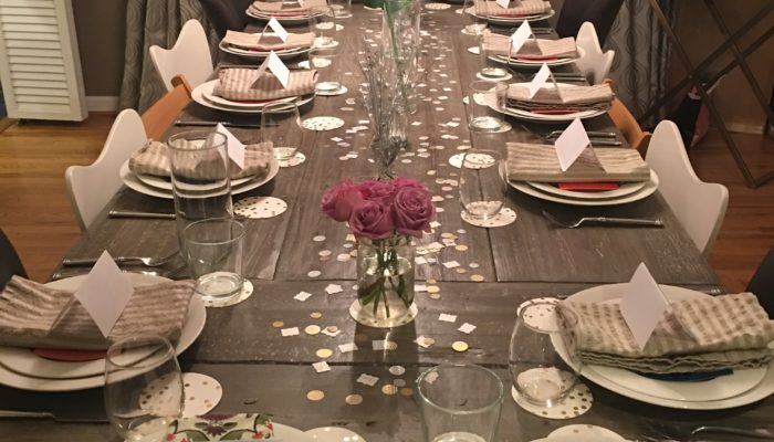 Tips For Hosting A Dinner Party – Decor, Food, Balloon Drop & More